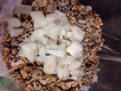 How to cook a pate. No Tuna / Sunny Walnut Pate' - Step 1