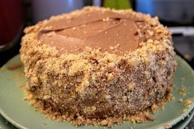 How to bake a sponge cake. Happy Hippo Cake - Step 12