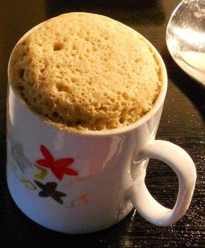 How to cook a snack. Mug Cake Lunch - Step 1