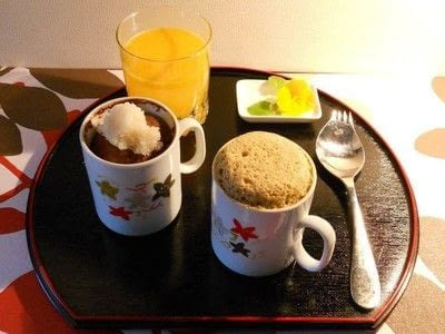 How to cook a snack. Mug Cake Lunch - Step 3