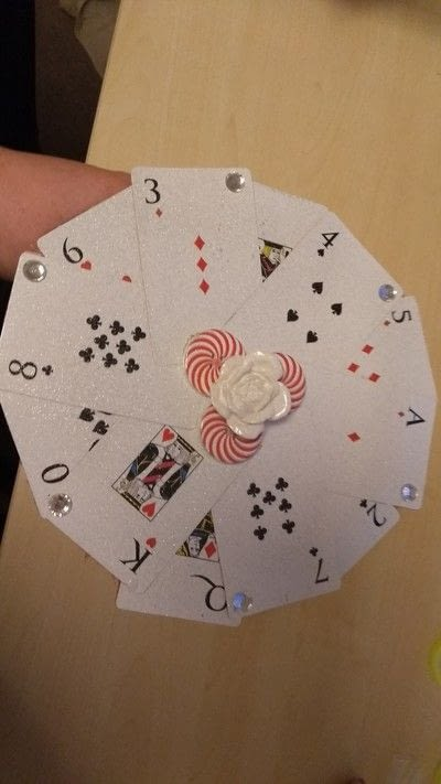 How to make a novelty hat. Card Fascinator - Step 4