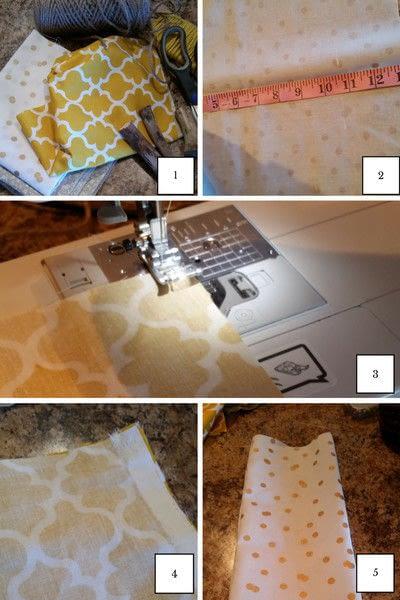 How to decorate a pumpkin. Diy Fabric Pumpkins - Step 1