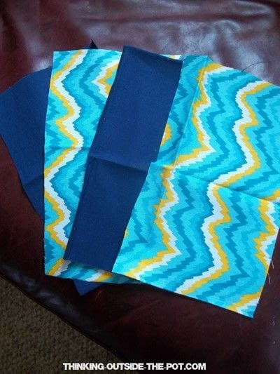 How to make a pouch, purse or wallet. Diy Back To School Pencil Bag - Step 1