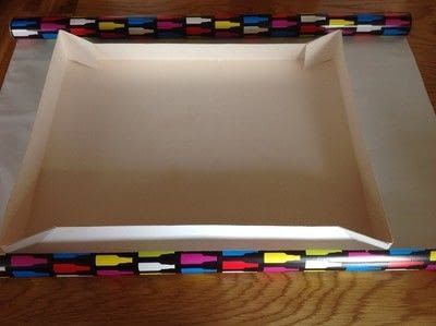 How to make a misc. Revamped Cake Box - Step 1