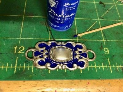 How to make a recycled bracelet. Magic Up Cycled Link Belt Cuff Bracelet - Step 4
