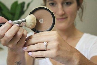 How to create a tan or contour makeup. How To Contour - Step 1