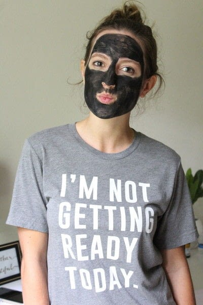 How to make a face mask. Diy Charcoal Mask - Step 5
