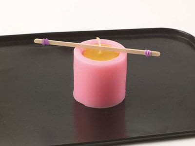 How to make a candle. Beehive Candle - Step 8