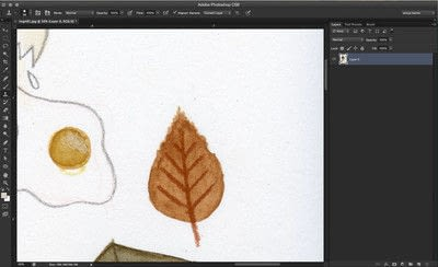 How to make a digital artwork. Clean Up A Painting Scan - Step 2
