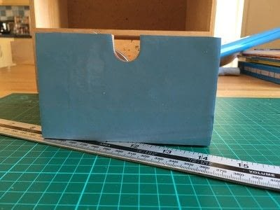 How to make a drawer. Craft Box Revamp - Step 2