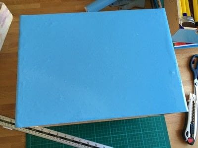 How to make a drawer. Craft Box Revamp - Step 3