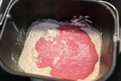 How to bake a burger bun. Beetroot Brioche Buns - Step 5