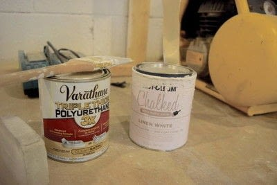 How to make a techniques. Easy Diy Chalk Paint Tutorial - Step 1
