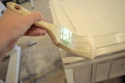 How to make a techniques. Easy Diy Chalk Paint Tutorial - Step 7