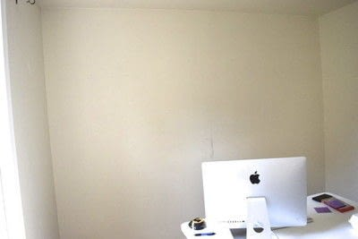 How to make wall decor. Diy Board And Batten Grid Wall - Step 1