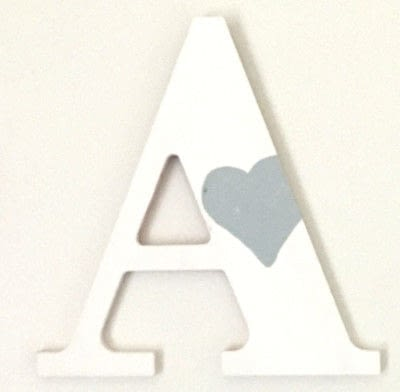 How to make a letter. Pottery Barn Inspired Printed Letters - Step 2