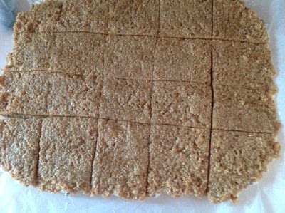 How to bake a bar / slice. Samoa Rice Krispy Treat - Step 9