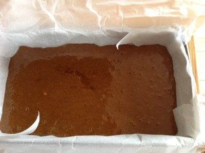 How to cook a baked treat. Sticky Gingerbread Loaf - Step 6