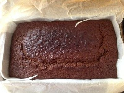 How to cook a baked treat. Sticky Gingerbread Loaf - Step 7