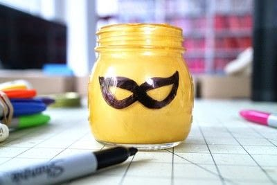 How to make a jar. Lego Superhero Jar - Step 5