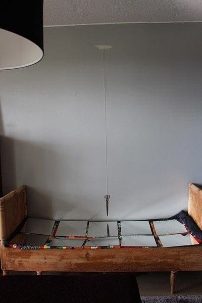 How to make a wall mirror. Contemporary Mirror Wall - Step 1