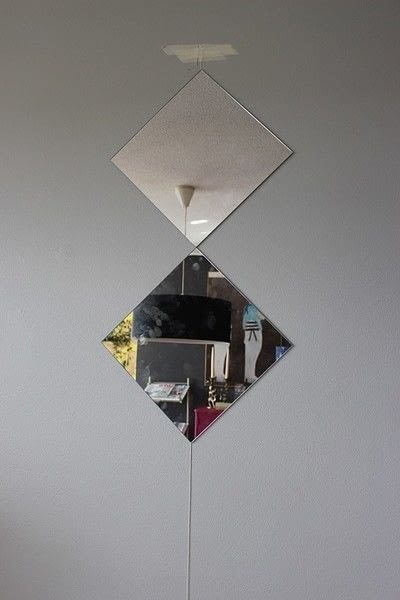 How to make a wall mirror. Contemporary Mirror Wall - Step 4