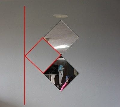 How to make a wall mirror. Contemporary Mirror Wall - Step 5