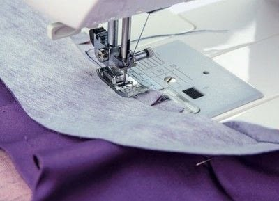 How to sew . Shawl Collar - Step 23