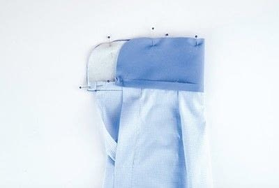 How to sew a sleeve. Shirt Cuff - Step 5