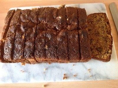 How to bake a banana cake. Banana & Walnut Bread - Step 8