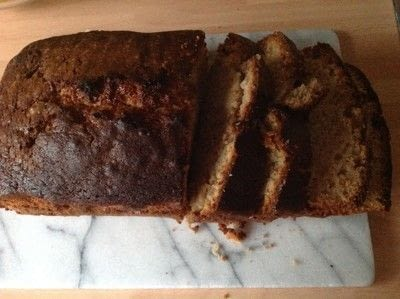 How to bake a fruit cake. Fresh Fig Bread - Step 5