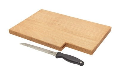 How to make a kitchen project / dining project. Breadboard With Knife - Step 15