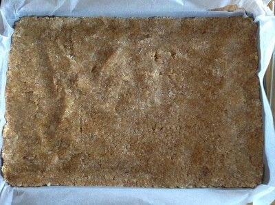 How to bake a bar / slice. Peppermint Bars - Step 3
