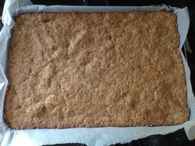 How to bake a bar / slice. Peppermint Bars - Step 4