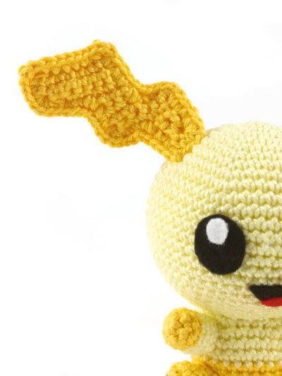 How to make a character plushie. Amigurumi Oragai - Step 6