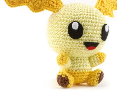 How to make a character plushie. Amigurumi Oragai - Step 8