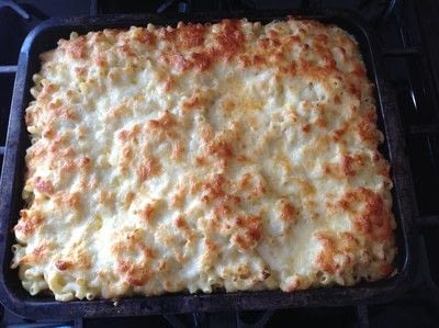 How to cook macaroni cheese. Macaroni Three Cheese Bake - Step 11