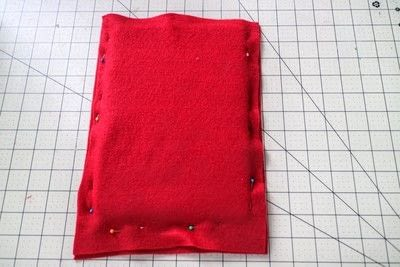 How to make a tablet sleeve. Postage Envelope iPad Sleeve - Step 2