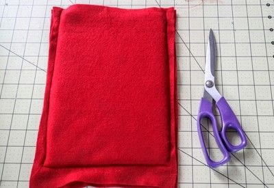 How to make a tablet sleeve. Postage Envelope iPad Sleeve - Step 4