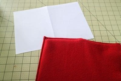 How to make a tablet sleeve. Postage Envelope iPad Sleeve - Step 6