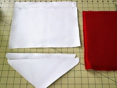 How to make a tablet sleeve. Postage Envelope iPad Sleeve - Step 7