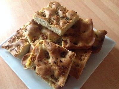 How to bake a focaccia. Facaccia Bread - Step 9