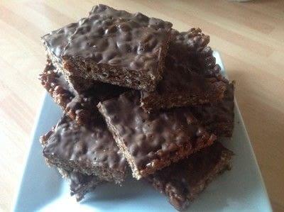 How to bake a bar / slice. Mars Bar Cake - Step 7