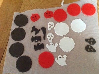 How to bake a sponge cake. Spooky Halloween Cupcakes  - Step 9