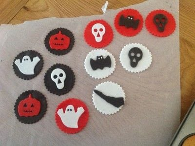 How to bake a sponge cake. Spooky Halloween Cupcakes  - Step 10