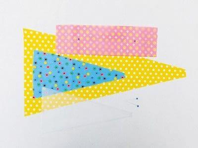 How to make a flag. Festival Flag - Step 1