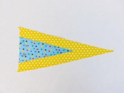 How to make a flag. Festival Flag - Step 4