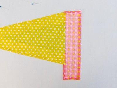 How to make a flag. Festival Flag - Step 6