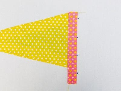 How to make a flag. Festival Flag - Step 7