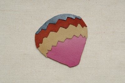 How to make a fabric brooch. Jacques Hot Air Balloon Brooch - Step 2